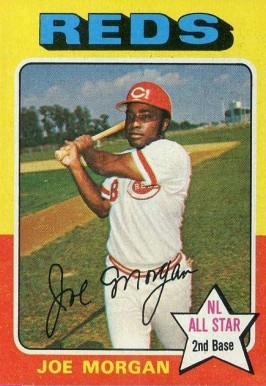 1975 Topps Mini Joe Morgan #180 Baseball Card