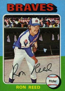 1975 Topps Mini Ron Reed #81 Baseball Card