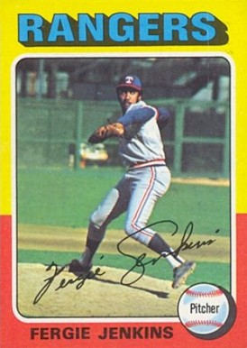1975 Topps Mini Fergie Jenkins #60 Baseball Card