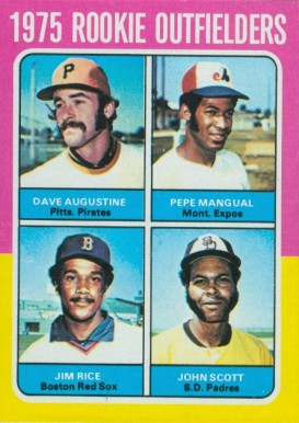 1975 Topps Mini Dave Augustine #616 Baseball Card