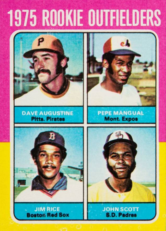 1975 Topps Mini Rookie Outfielders #616 Baseball Card