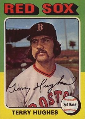 1975 Topps Terry Hughes #612 Baseball Card