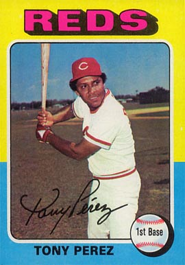1975 Topps Tony Perez #560 Baseball Card