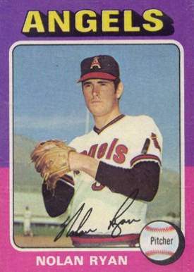 1975 Topps Nolan Ryan #500 Baseball Card