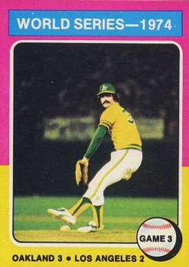 1975 Topps Rollie Fingers #463 Baseball Card