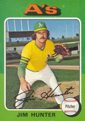 1975 Topps Jim Hunter #230 Baseball Card
