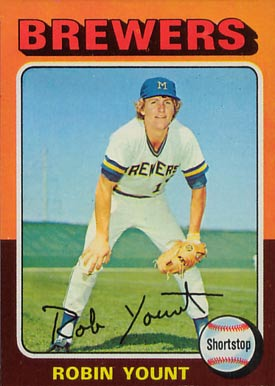 1975 Topps Robin Yount #223 Baseball Card