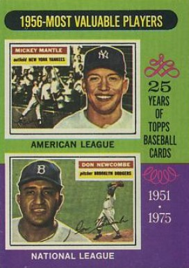 1975 Topps Mickey Mantle #194 Baseball Card