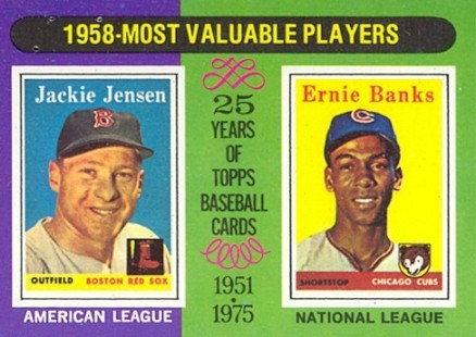 1975 Topps Ernie Banks #196 Baseball Card