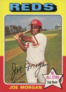 1975 Topps Joe Morgan #180 Baseball Card
