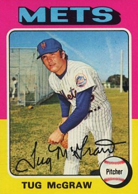 1975 Topps Tug McGraw #67 Baseball Card