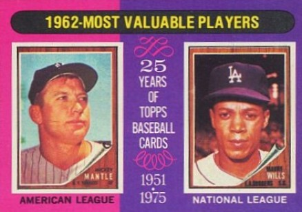 1975 Topps Mickey Mantle #200 Baseball Card