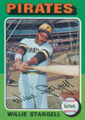 1975 Topps Willie Stargell #100 Baseball Card