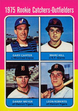 1975 Topps Gary Carter #620 Baseball Card