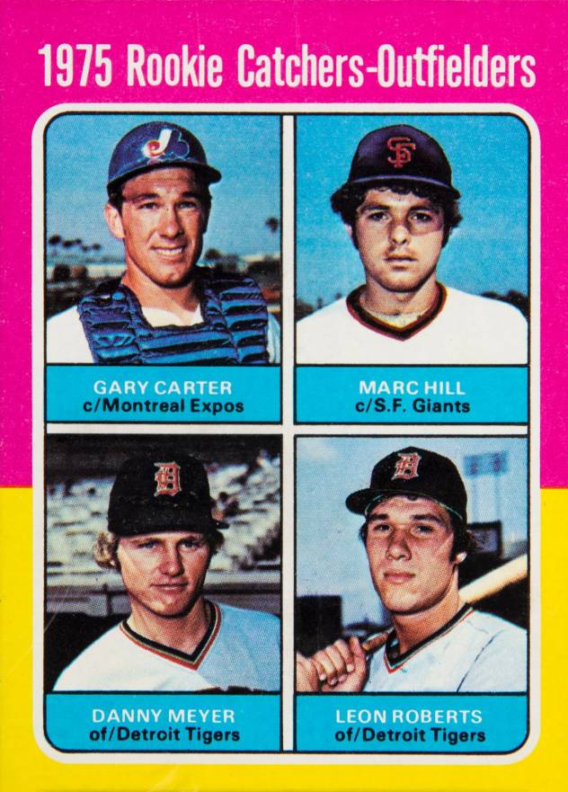 1975 Topps Rookie Catchers-Outfielders #620 Baseball Card