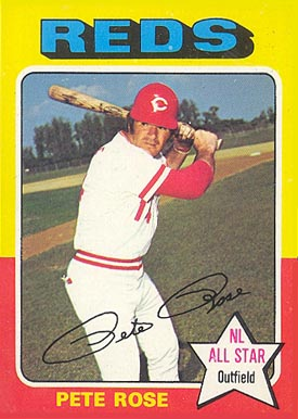 1975 Topps Pete Rose #320 Baseball Card