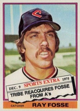 1976 Topps Traded Ray Fosse 554t Baseball Vcp Price Guide