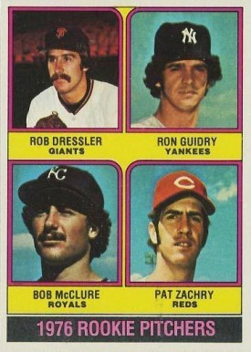 1976 Topps Rookie Pitchers #599 Baseball Card
