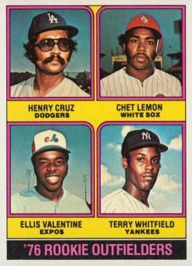 1982 Topps #493 Chet Lemon Baseball Cards Chicago White Sox