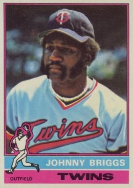 1976 Topps Johnny Briggs #373 Baseball Card