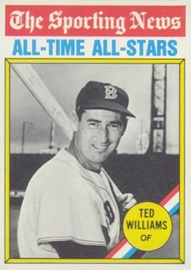 1976 Topps Ted Williams #347 Baseball Card