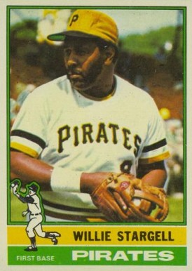 1976 Topps Willie Stargell #270 Baseball Card