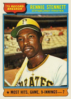 1976 Topps Rennie Stennett #6 Baseball Card
