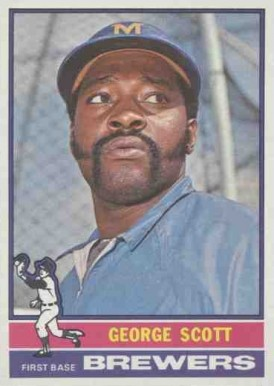 1976 Topps George Scott #15 Baseball Card