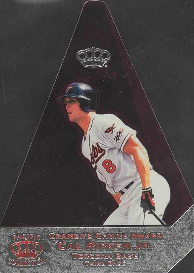 1998 Pacific Invincible Cramer's Choice Purple Cal Ripken Jr. #3 Baseball Card