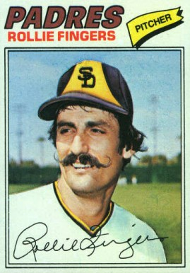 1977 Topps Rollie Fingers #523 Baseball Card