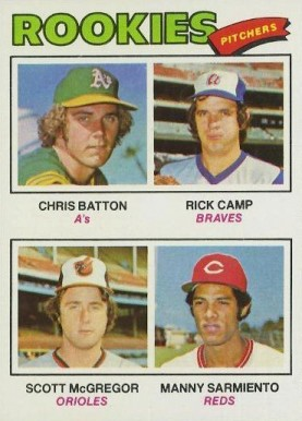 1977 Topps Chris Batton #475 Baseball Card