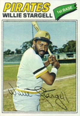 1977 Topps Willie Stargell #460 Baseball Card