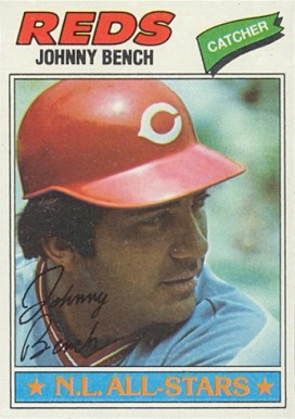 1977 Topps Johnny Bench #70 Baseball Card