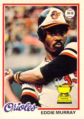 1978 O-Pee-Chee Eddie Murray #154 Baseball Card