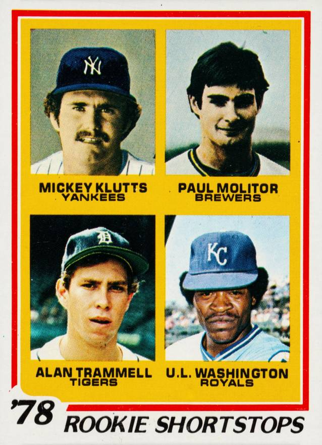 1978 Topps Rookie Shortstops #707 Baseball Card
