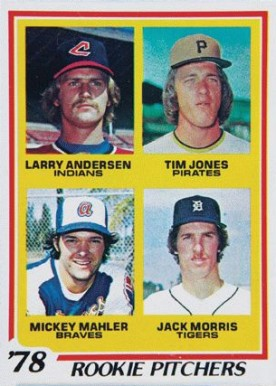 1978 Topps Rookie Pitchers #703 Baseball Card