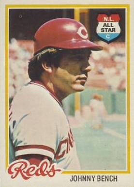 1978 Topps Johnny Bench #700 Baseball Card