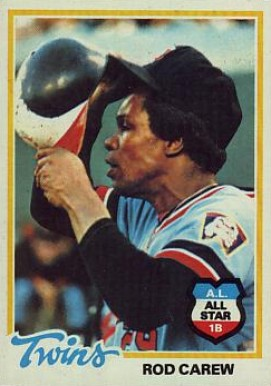 1978 Topps Rod Carew #580 Baseball Card