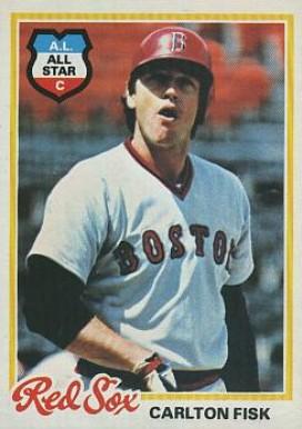 1978 Topps Carlton Fisk 270 Baseball Vcp Price Guide