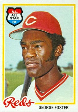 1978 Topps George Foster #500 Baseball Card
