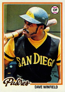 1978 Topps Dave Winfield #530 Baseball Card