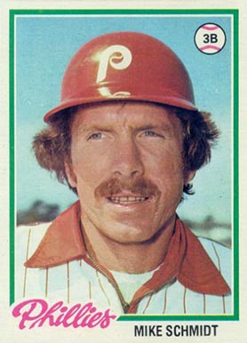 Mike Schmidt Hall Of Fame Baseball Cards