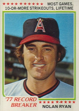 1978 Topps Nolan Ryan #6 Baseball Card