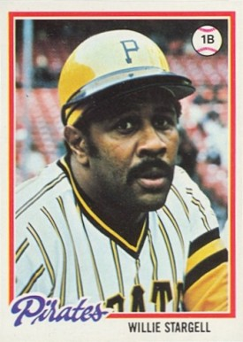 1978 Topps Willie Stargell #510 Baseball Card