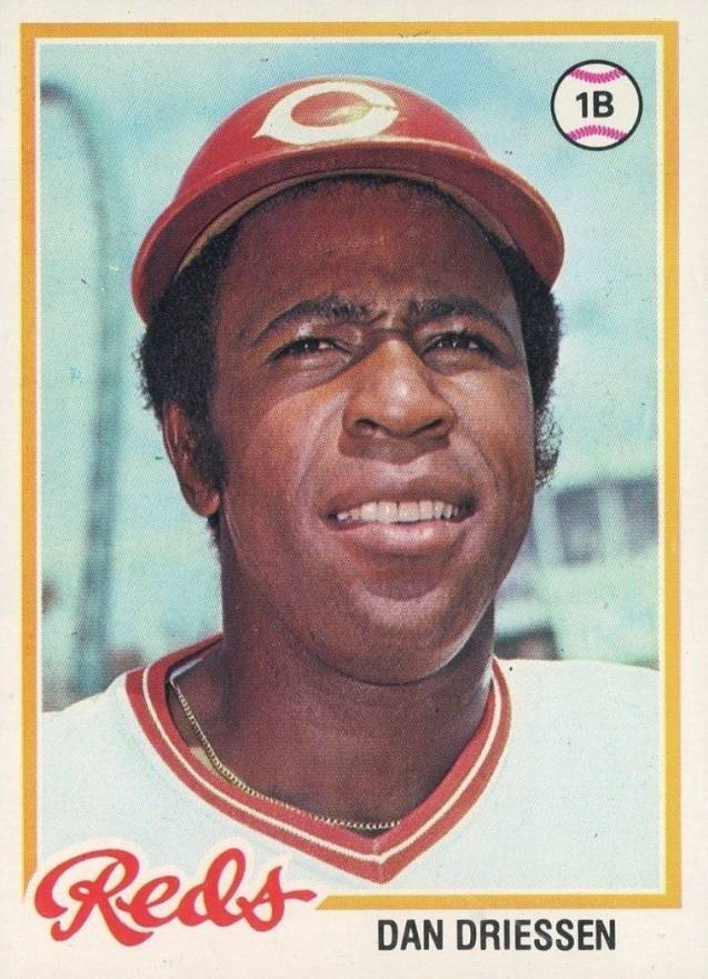 1978 Topps Dan Driessen #246 Baseball Card