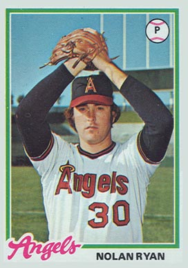 1978 Topps Nolan Ryan #400 Baseball Card