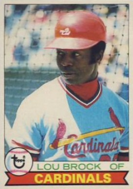 1979 Topps Lou Brock #665 Baseball Card