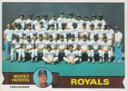 1979 Topps Royals Team #451 Baseball Card