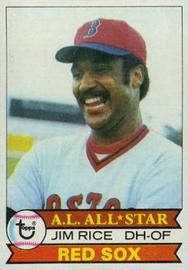 1979 Topps Jim Rice #400 Baseball Card