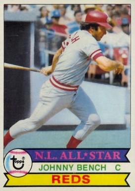 Johnny Bench Hall Of Fame Baseball Cards